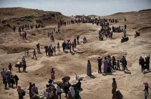 Yazidi-mount-sinjar